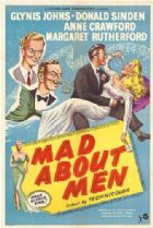 Mad About Men 1954 DVD - Glynis Johns
